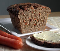 Carrot Sunflower Seed Bread