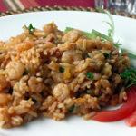 Jambalaya mit Shrimps
