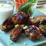 Finger Food: Honey Garlic Chicken Wings
