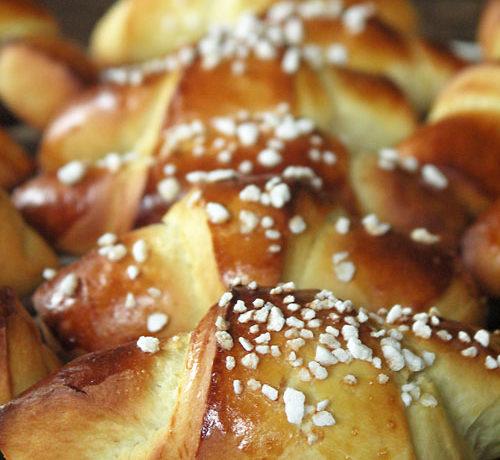 Hörnchen aus Kartoffel-Hefeteig