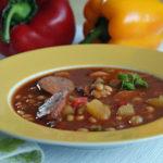 Aus dem Slowcooker: Serbische Bohnensuppe