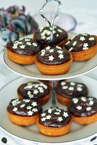 Bananen-Schokoladen-Cupcakes