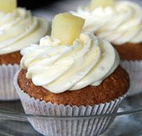 Hummingbird-Cupcakes mit Trüffelcreme