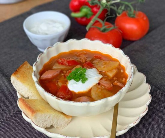 Ungarische Sauerkrautsuppe