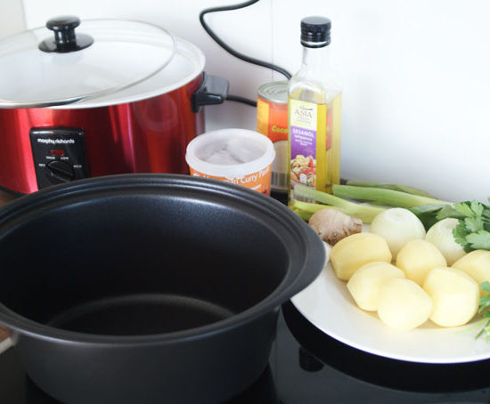 Kochen mit dem Slowcooker- Aufbau des Gerätes