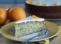 Orangen-Mohnkuchen