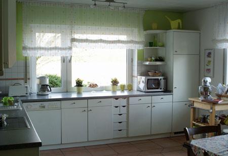 Pin Die Hellblaue Küche Hat Schöne Bodensee Sicht Ist ...