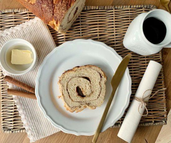 Einfaches USA-Rezept für Zimtwirbel-Brot