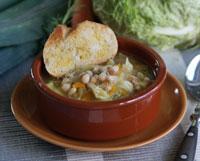 Ribollita - toskanische Gemüsesuppe