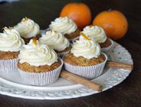Möhren-Karotten-Cupcakes