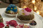 Nochmal Cupcakes aus Wolle