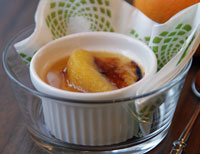 Lebkuchen-Crème-Brûlée