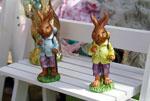 Zwei süße Hasen