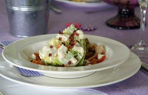 Eissalat-Spalten