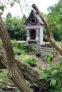 Und noch ein Vogelhaus...