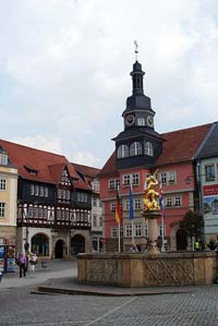 Markplatz in Eisenach