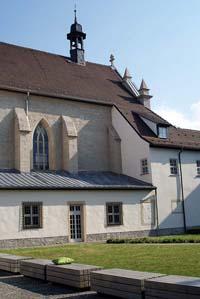 Hof der Erfurter Wigberti-Kirche