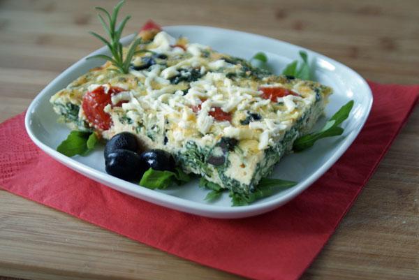 Diat Die Erste Griechische Frittata Langsam Kocht Besser