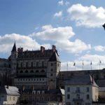 Blick auf Schloss Amboise