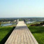 Großartiger Ausblick vom Park über das Loire-Tal