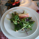 Wintersalat mit Forellenmousse