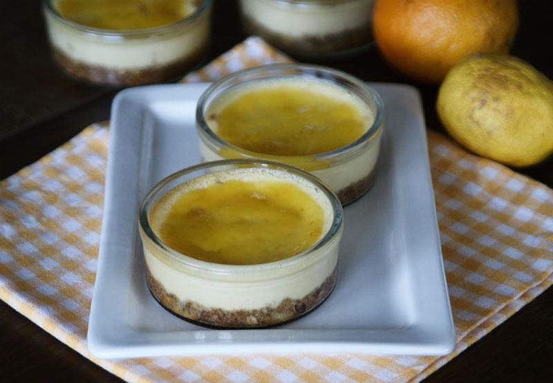 Mini-Käsekuchen im Glas