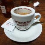 Stark, für mich zu stark - Schamongs Espresso