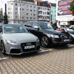 Start zur Rallye beim Autozentrum Düsseldorf