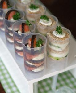 Push-up Sandwiches