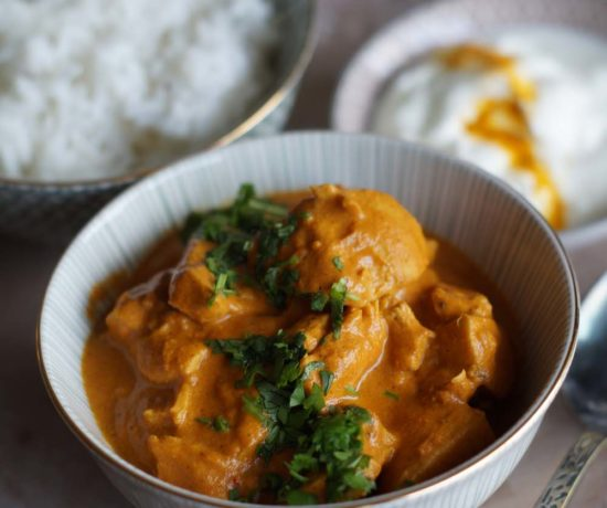 Butter Chicken aus dem Slowcooker