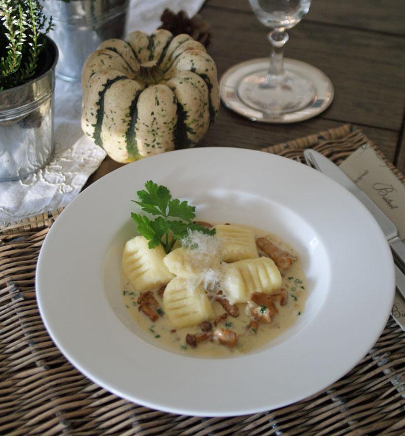 30-minuten-küche: ricotta-gnocchi mit pfifferling-rahm ... - 30 Minuten Küche
