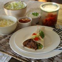 Shredded Beef Burritos (Slowcooker-Rezept)