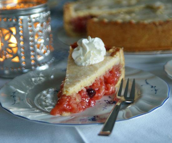 Apfel-Cranberry-Kuchen