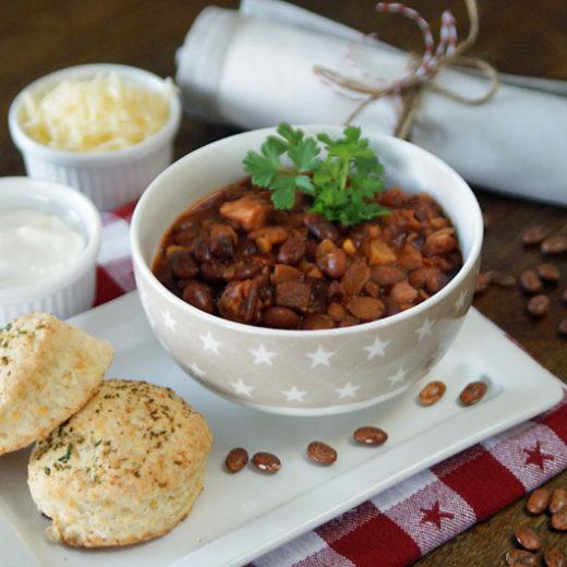 Cowboy Beans aus dem Slowcooker