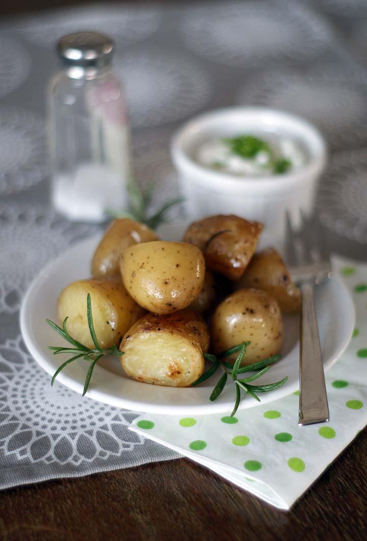 Rosmarinkartoffeln im Slowcooker