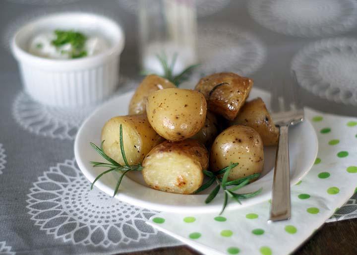 Rosmarinkartoffeln aus dem Crockpot