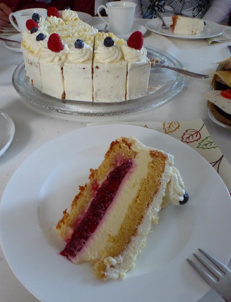 Zum Valentinstag Himbeer Mascarpone Torte Langsam Kocht Besser