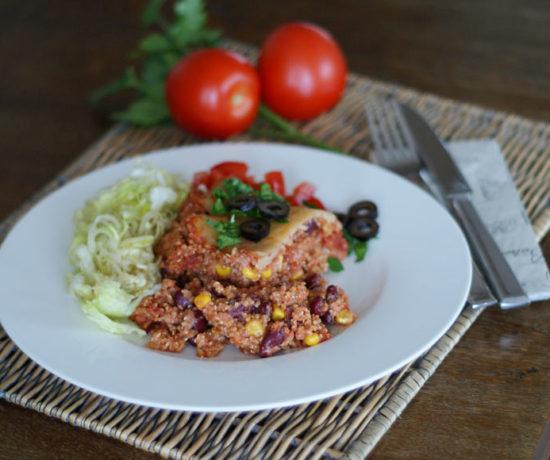 Enchilada-Auflauf