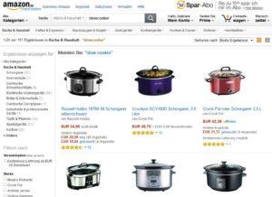 Slowcooker bei Amazon bestellen