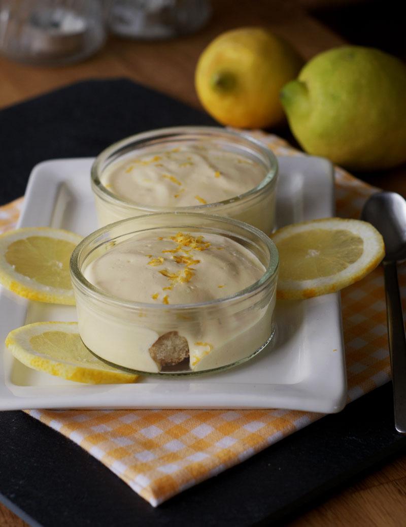 Zitronen-Tiramisu