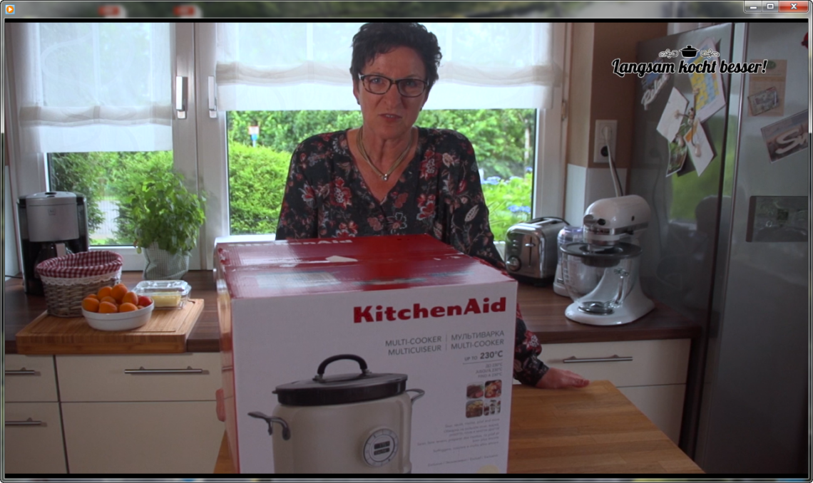 Unboxing Kitchen Aid Multi Cooker