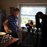Dreharbeiten in der Küche