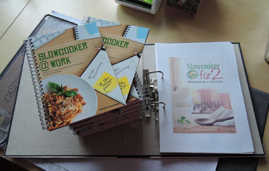 Zwei Buchprojekte für Slowcooker