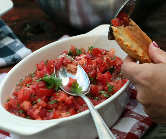 Empanadas mit Salsa