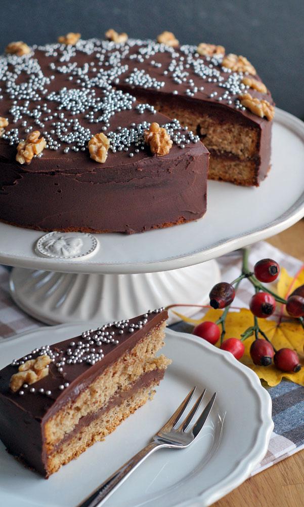 Schokoladentorte mit Baileys