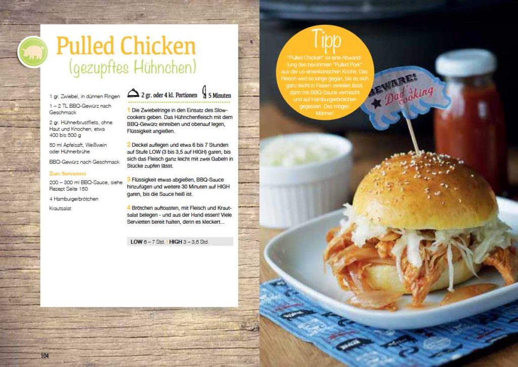Rezept Pulled Chicken
