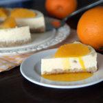 Orangen-Ingwer-Cheesecake