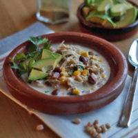Aus dem Slowcooker: Cream Cheese Chicken Chili