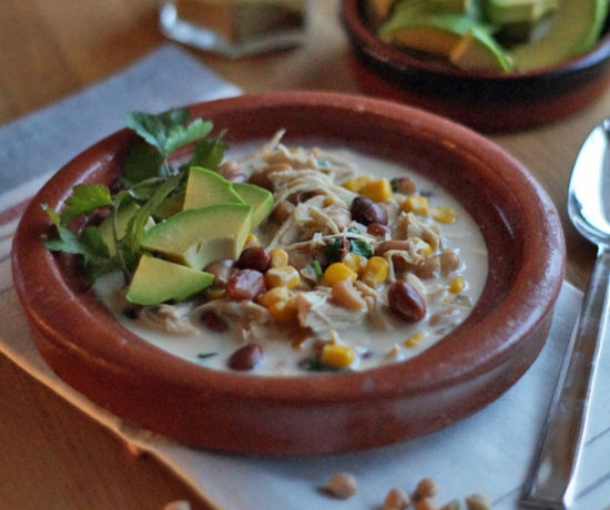 Cream Cheese Chicken Chili aus dem Slowcooker