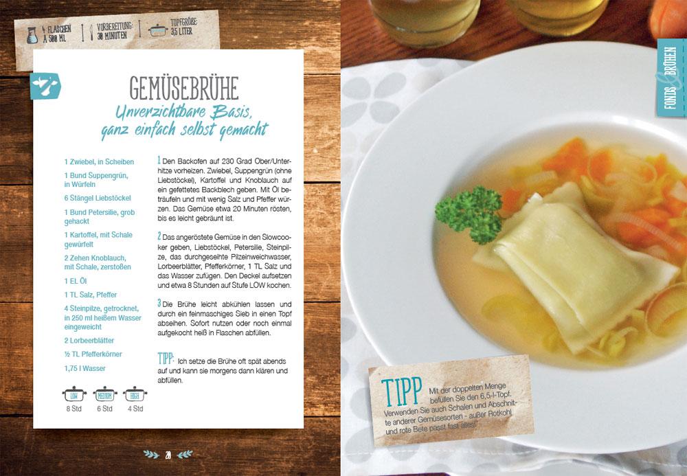 Rezepteinblick 52 Wochen - 52 Suppen